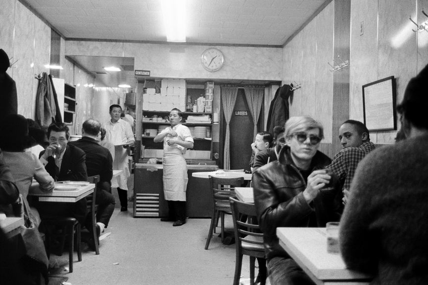 1-35 a.m., in Chinatown Restaurant, New York, New York, 1965–67