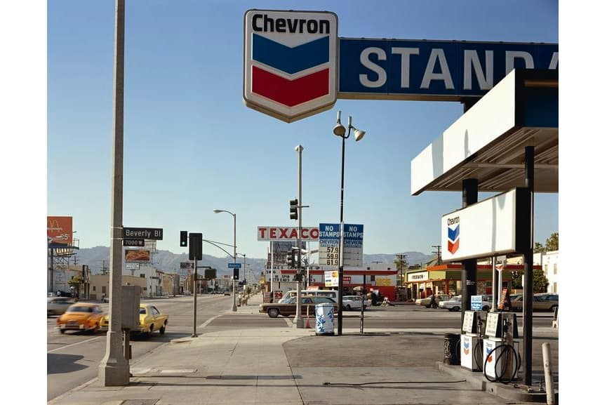 Beverly Boulevard and La Brea Avenue, Los Angeles, California, 1975