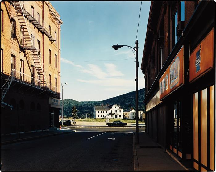 Stephen Shore-Holden Street, North Adams, Massachusetts-1974