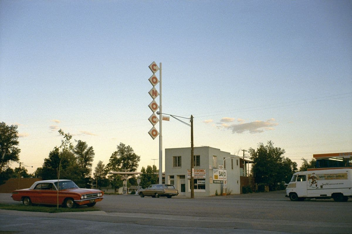 Stephen Shore - Kanab, Utah, 1972