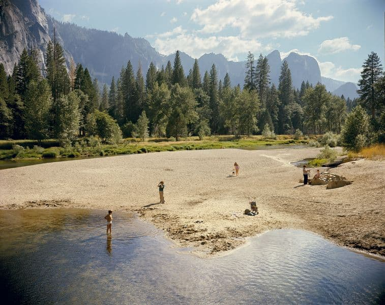 Merced River, Yosemite National Park, California, 1979
