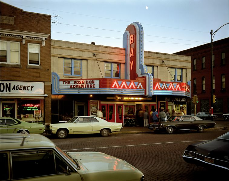 Second Street, Ashland, Wisconsin, 1973