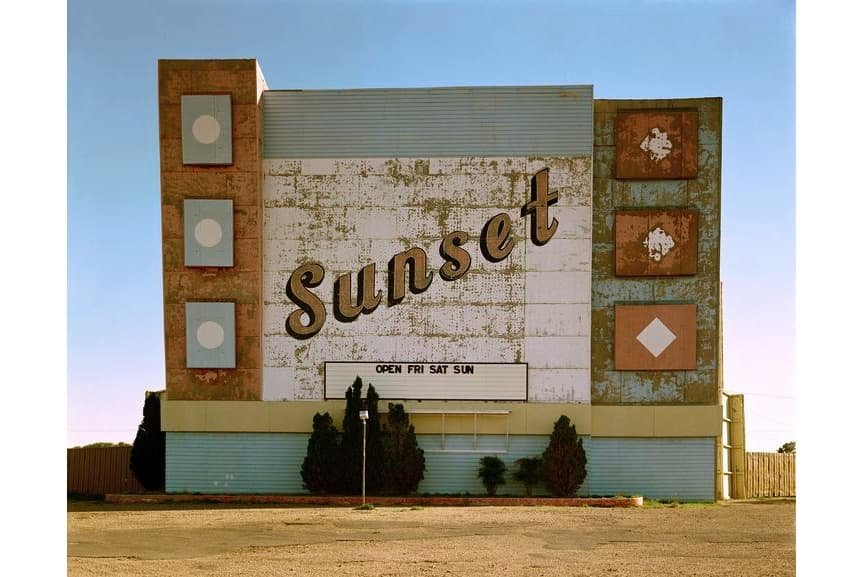 West Ninth Avenue, Amarillo, Texas, 1974