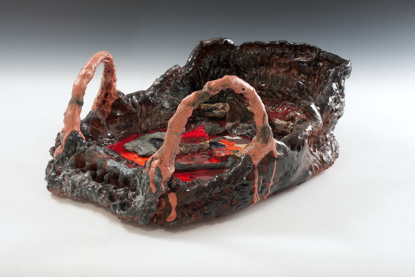 The work of ruby sterling was shown in both museum and gallery in 2008 2010 2013