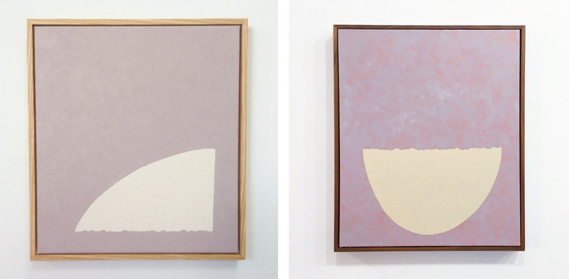 Steuart Pittman -Try for the Kingdom (for Moe), 2015 and Sitting Pretty 2015