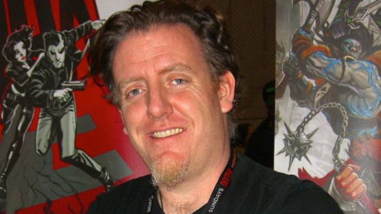 Steve Ellis at the 2011 New York Comic Con - photo by Luigi Novi