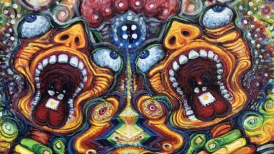 Steve Mifsud - Rainbow Mirror Mask, 2019 (detail)