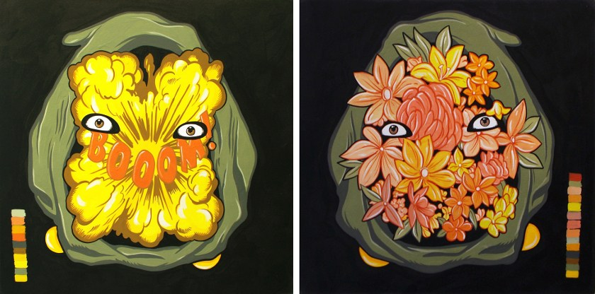 Steve Seeley - Dr. Boom, 2014 - Dr. Bloom, 2014 - Courtesy of Vertical Gallery