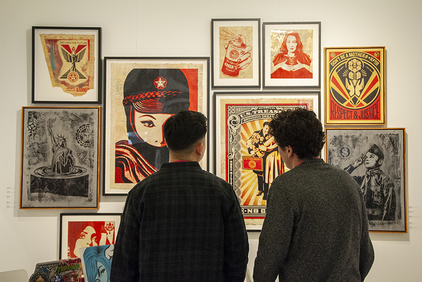 Shepard Fairey, StolenSpace Urvanity Art 2020 Madrid