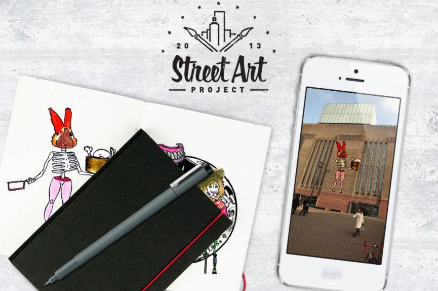 Virtual Street Art