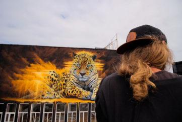 Street artist Sonny