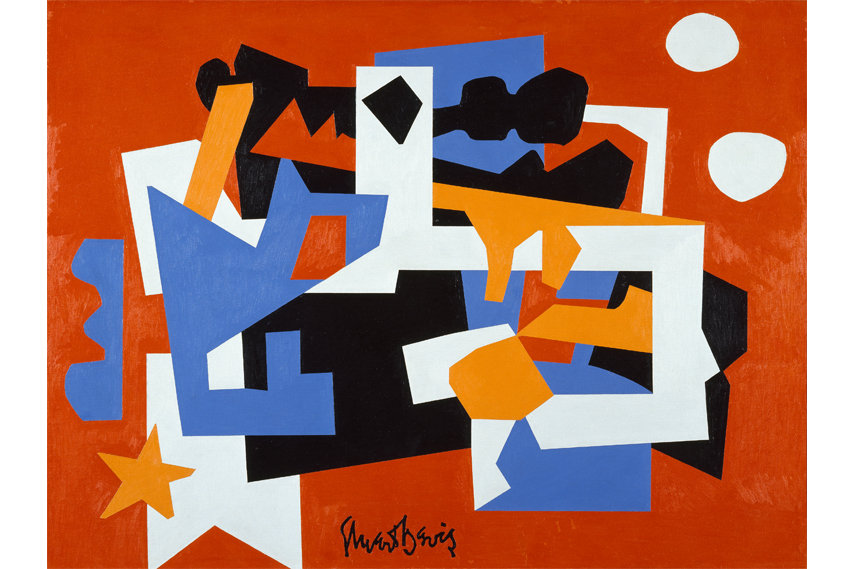 Stuart Davis 1892–1964 - Colonial Cubism 1954 - Oil on canvas - Walker Art Center, Minneapolis - Gift of the T