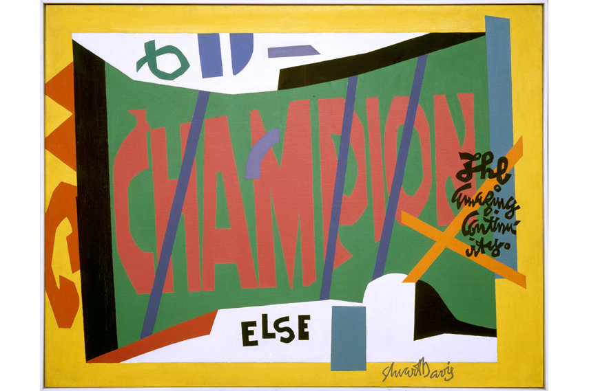 Stuart Davis (1892–1964) - Visa 1951 - The Museum of Modern Art, New York; gift of Mrs