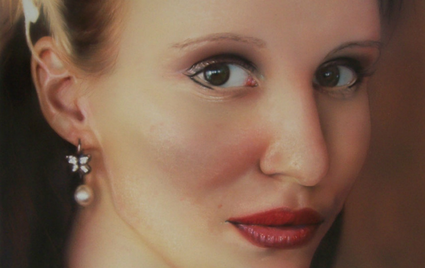 Stuart Easton - Airbrushed Portrait