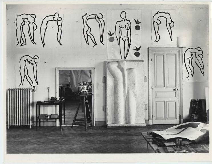 Studio of Matisse in the former Hotel Regina