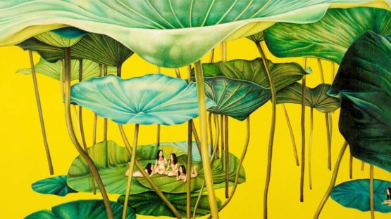 Su-en Wong - Golden Fable, 2003 (detail)