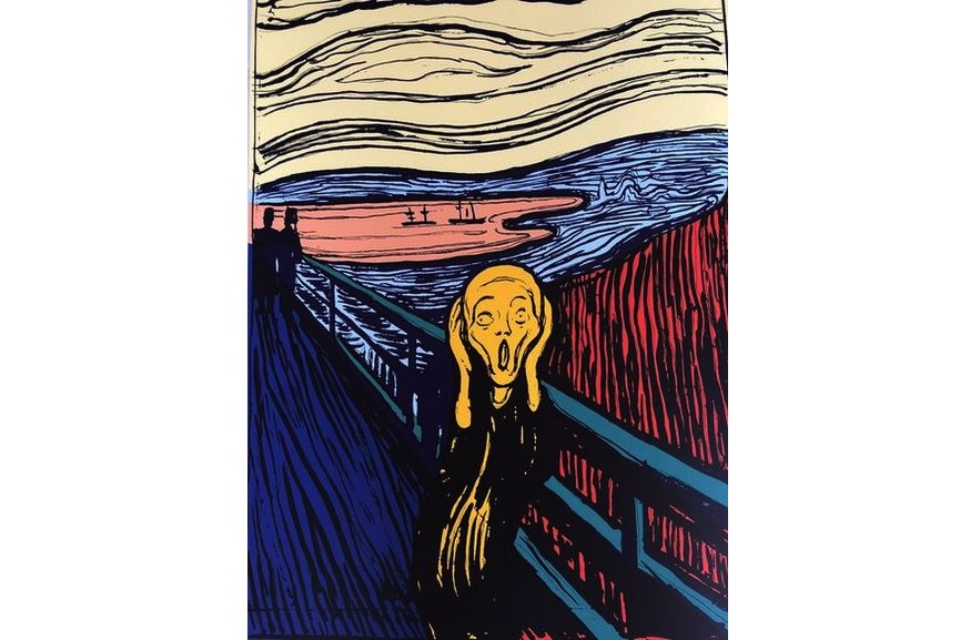Sunday B. Morning - The Scream (Orange), 2018
