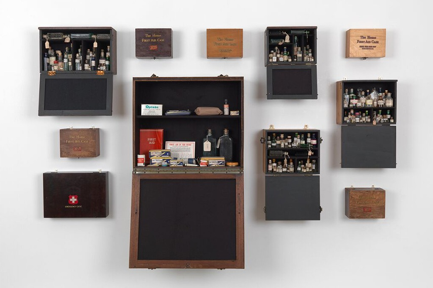 Susan Hiller - Emergency case Homage to Joseph Beuys, 1969-2012 museum