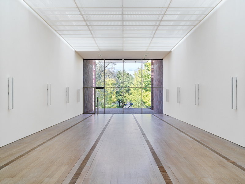 Susan Philipsz - The Wind Rose, Installation view Fondation Beyeler 2019