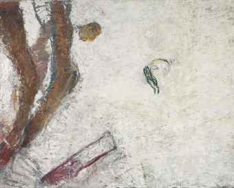 Susan Rothenberg-Accident-1991