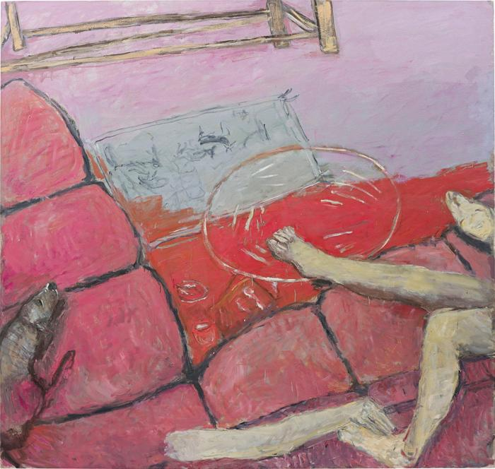 Susan Rothenberg-Pink Couch-2003