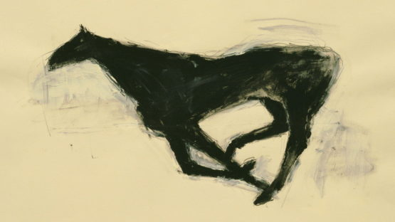 Susan Rothenberg - Untitled Drawing, No. 41