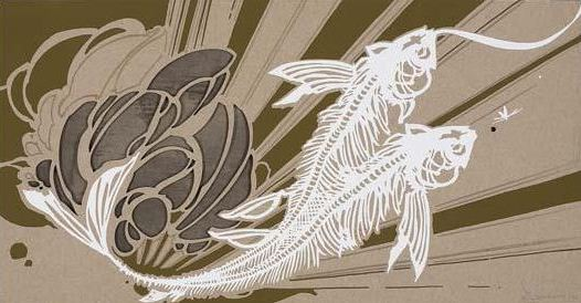 Swoon-Untitled on Chipboard-2007