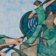 Sybil Andrews Cpe - The Giant Cable, 1931 (Detail)