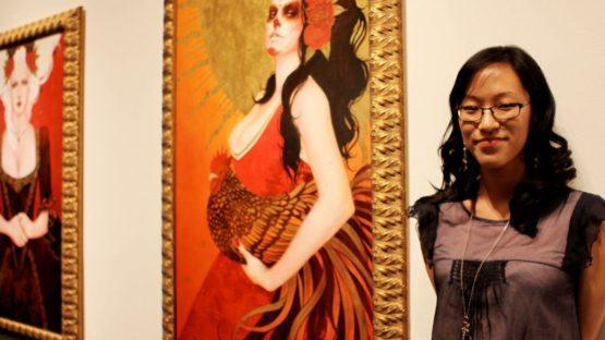 Sylvia Ji - Haute Epoch - solo show at Corey Helford Gallery - 2013