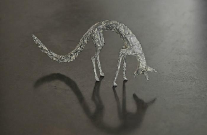 sculpture, animals, bronze, Sylvie Mangaud