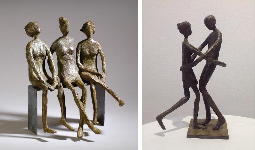 Sylvie Derely - LesBavardes (Left) / Carnaval (Right)