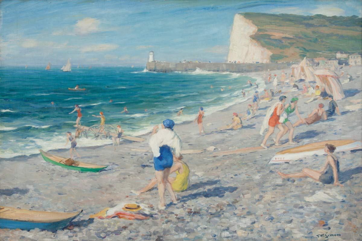 Famous Beach Paintings To Reminisce The Summer Widewalls