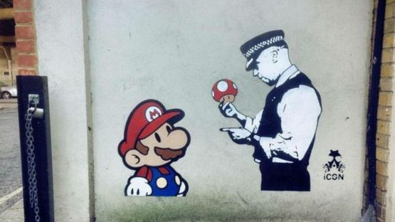 TRUST. iCON - Super Mario at Graffik Gallery