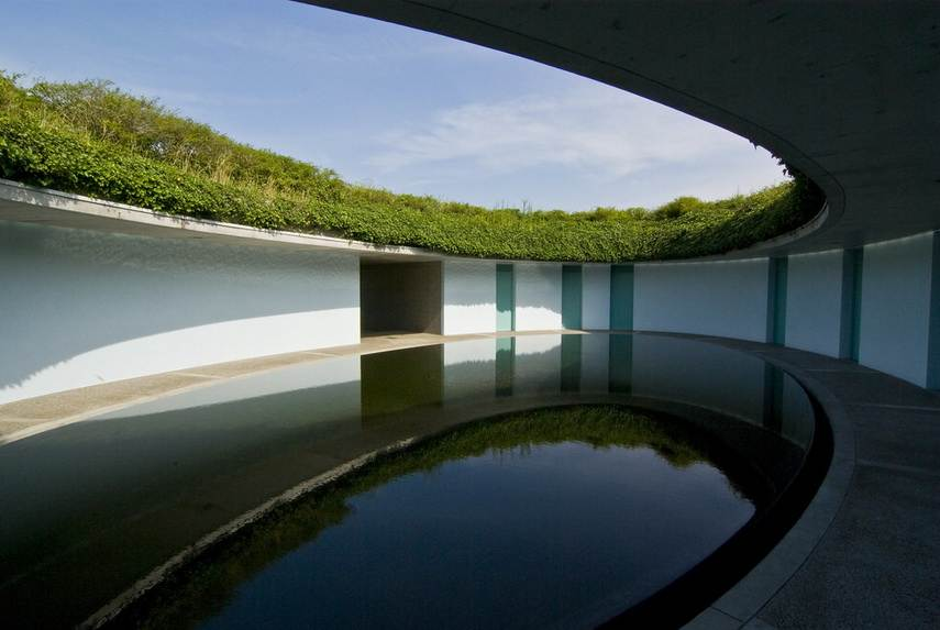 Tadao Ando House at Naoshima Island, Japan