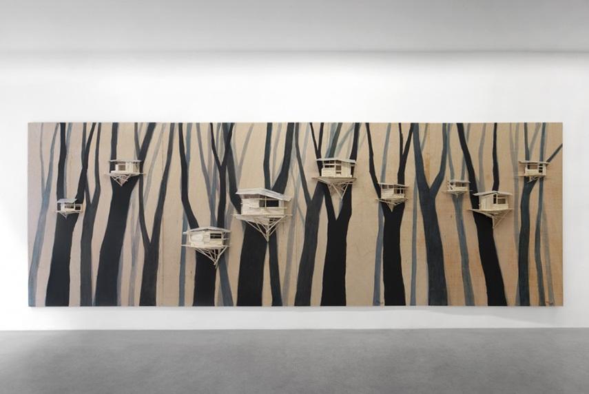 Tadashi Kawamata - Tree Hut in Brugge n5, 2015
