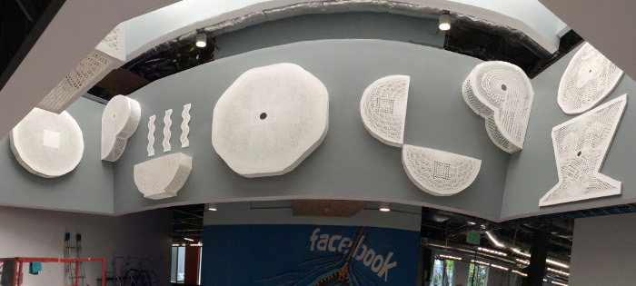 installation at Facebook s Menlo Park headquarters, 2015
