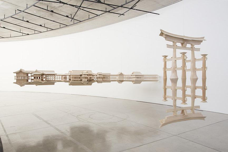 Reflection Model (Itsukushima), 2013-2014