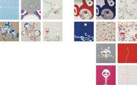 Takashi Murakami-16 Lithographs in colors-2001