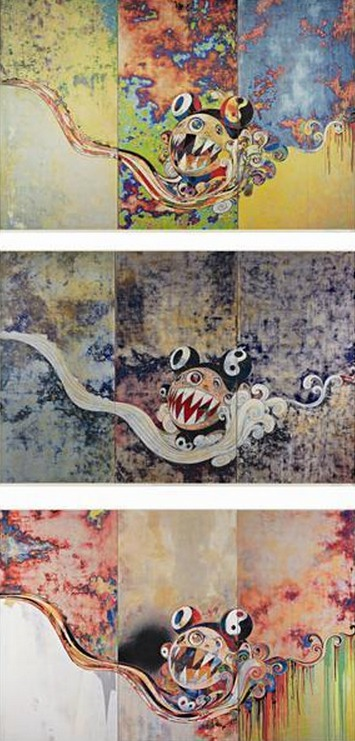 Takashi Murakami-727, 727-272, 727-727-