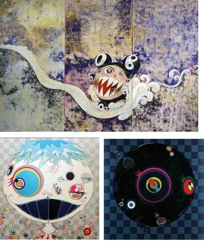 Takashi Murakami-727, Blackbeard, Jelly Fish-2003