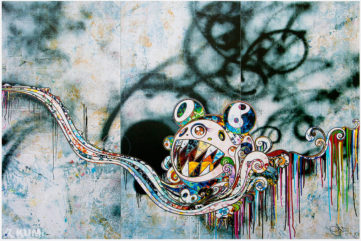 Takashi Murakami Prints from the Celebrated 727 Series Available at Kumi Contemporary!