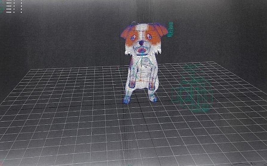 Takashi Murakami-A Leisurely Meander On Puppy Island Response to Leonardo da Vinci-2010