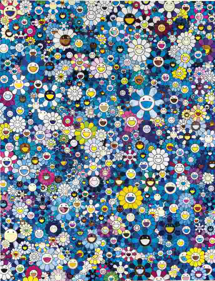 Takashi Murakami-An Homage To Ikb 1957 D-2012