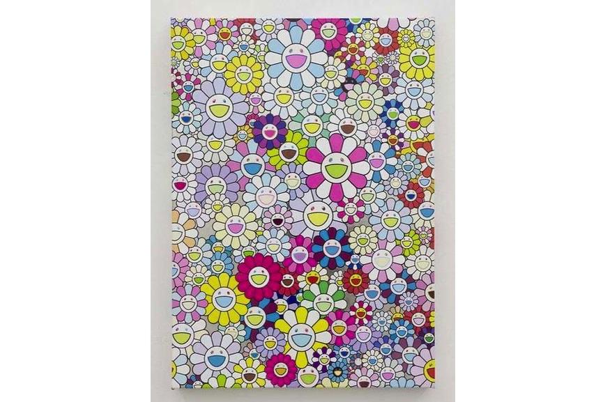Takashi Murakami - An Homage to Yves Klein Multicolor, G, 2013
