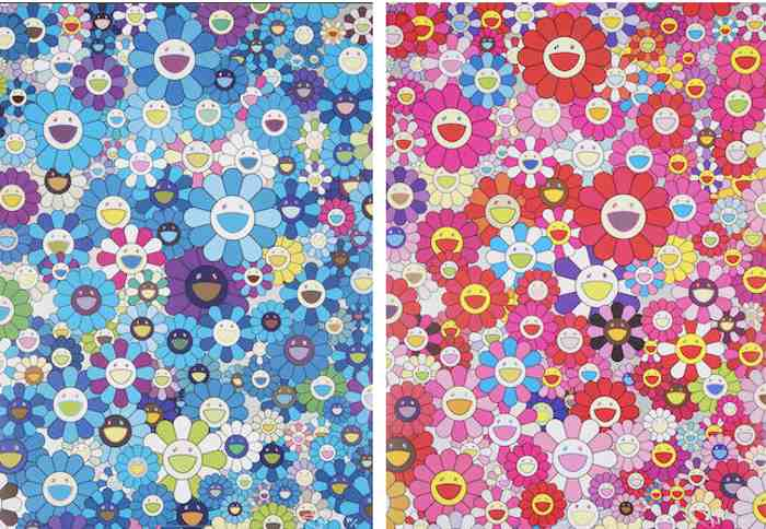 Takashi Murakami-An Hommage to IKB, An Hommage to Monopink-2011