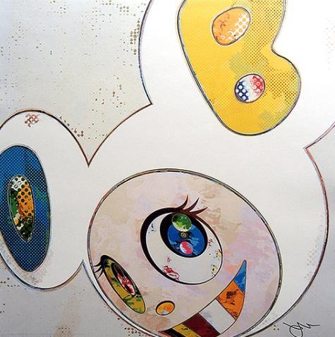 Takashi Murakami-And The X6 (White The Superflat Method)-2013