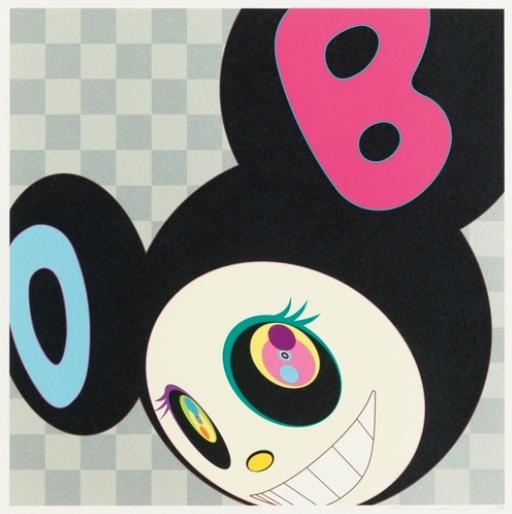 Takashi Murakami-And Then (Black)-2005