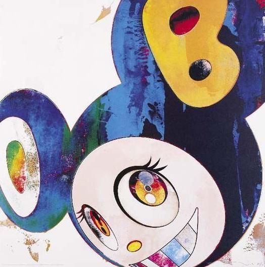 Takashi Murakami-And Then (Cream)-2008