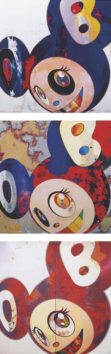 Takashi Murakami-And Then (Hello, Gargle Glop), And Then When That's Done.... I Change What I Was Yesterday Is Cast Aside Like An Insect-2010