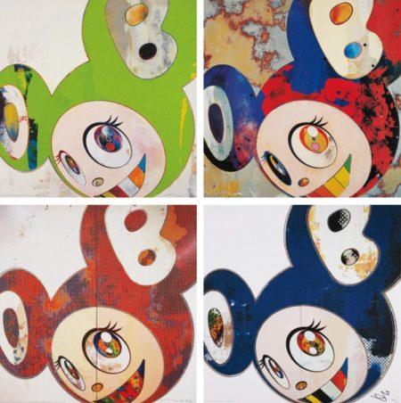Takashi Murakami-And Then (Kappa, Gargle Glop, When that's done I Change..., x6 Blue)-2013